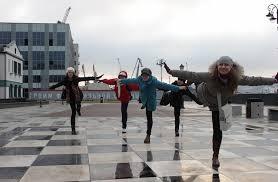 Vladivostok children draw Primorye